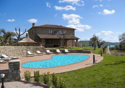 Villa dei Tramonti, Traumvilla mit Privatpool mit Blick zum See