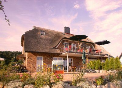 Luxus-Reet-Ferienwohnung mit Meerblick