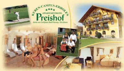 Preishof Appartementhotel Pauschale Erholungswoche