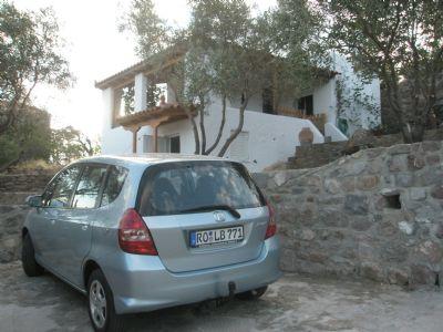 Bungalow mit Meerblick in Sfendouri (Ägina)