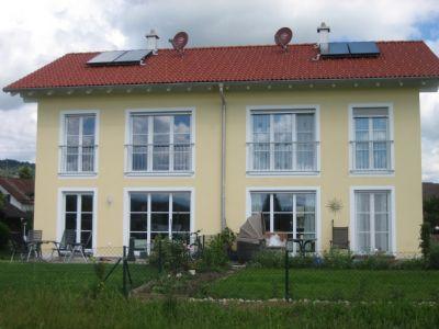 Weilheim: Neubau von zwei Doppelhaushälften mit Garagen
