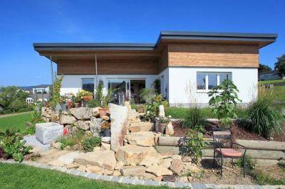 aktions bungalow mit 87 m ausbauhaus ab keller. Black Bedroom Furniture Sets. Home Design Ideas