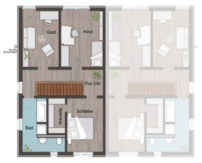 das au ergew hnliche doppelhaus im zeitlosen bauhausstil. Black Bedroom Furniture Sets. Home Design Ideas