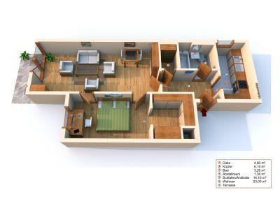 2 Zimmer Wohnung in München-Au