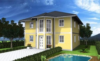 stadtvilla massivhaus ohne grundst ck einfamilienhaus aachen 2p2sq32. Black Bedroom Furniture Sets. Home Design Ideas