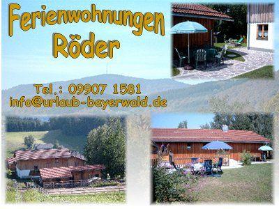 Urlaub im Bayerischen Wald, Ferienwohnung für max 6 Pers. Ab 34€ für 2 Personen; Kinder unter 6 J. und Haustiere frei