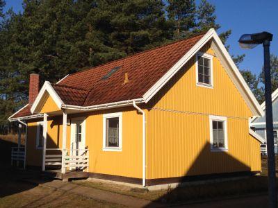 Haus am See, Skandinavischen Komfort in traumhafter Landschaft, 4 Schlafzimmer, Kamin, große Veranda