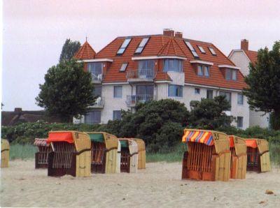 Maisonettewohnung gegenüber Strand und Ostsee in Haffkrug Scharbeutz