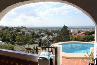 Denia: abs.ruhig gelegene Villa mit eigenem Pool, Weit- und Meerblick, Auengrill u.v.m. 