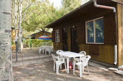 preiswerte familienfreundliche Unterkunft direkt am Meer - Feriendorf Le Tamerici - Bungalow c/g (1162)