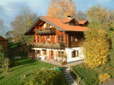 Chalet Holzblockhaus Helmer Allgäu - Wohnung 4